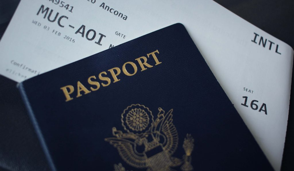 travel documents for flying with kids