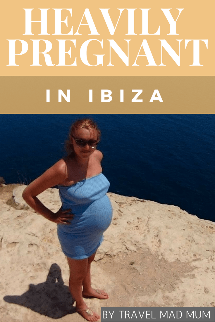 Heavily pregnant in Ibiza