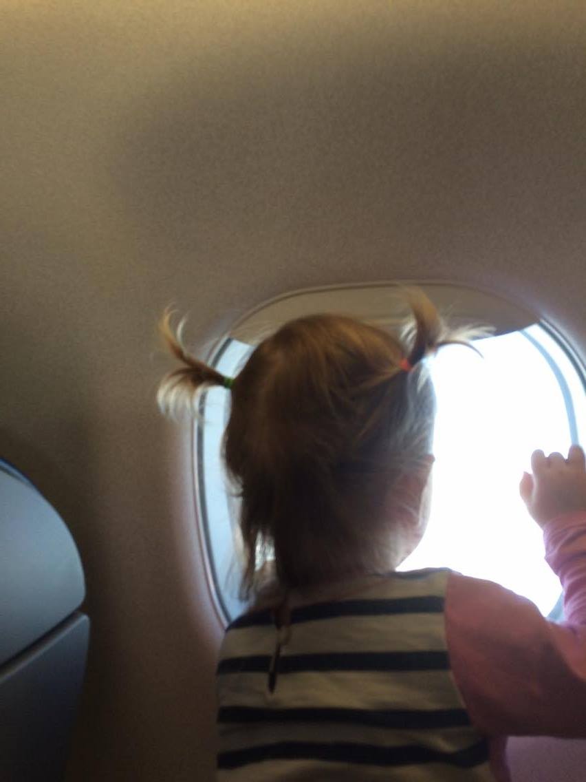 flying with a 2 year old