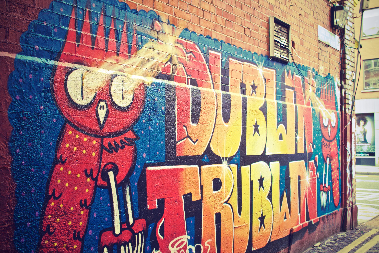 Dublin as a family. Dublin Wall Art.