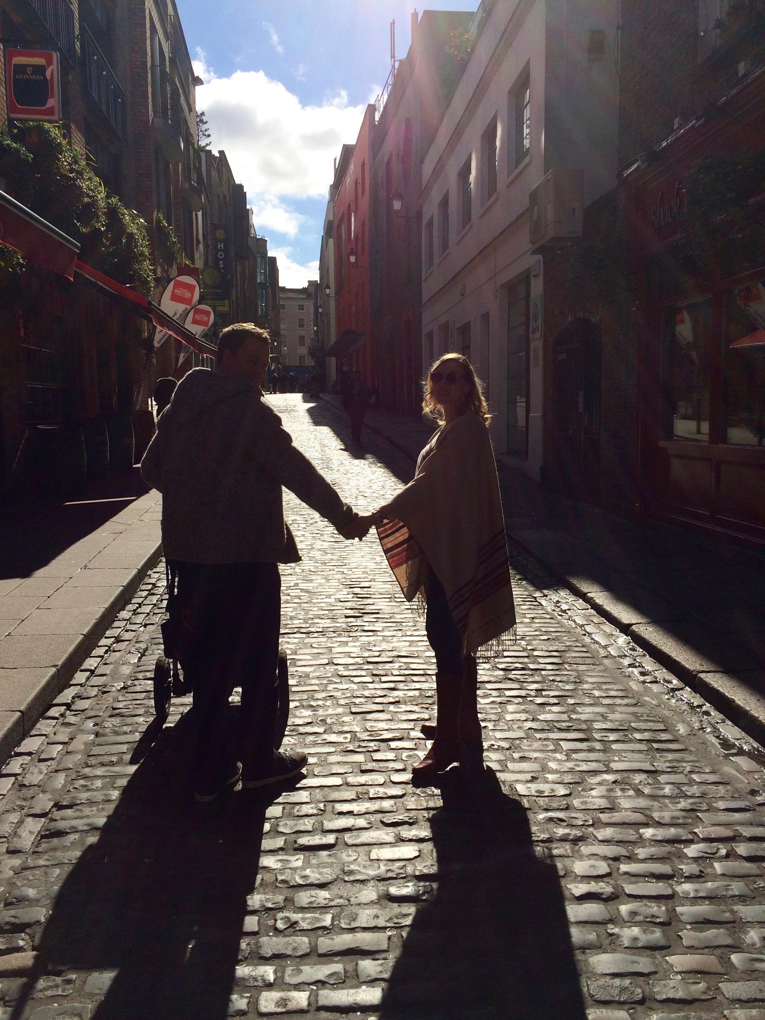 Dublin as a family. Travel Mad Mum and family in Dublin.