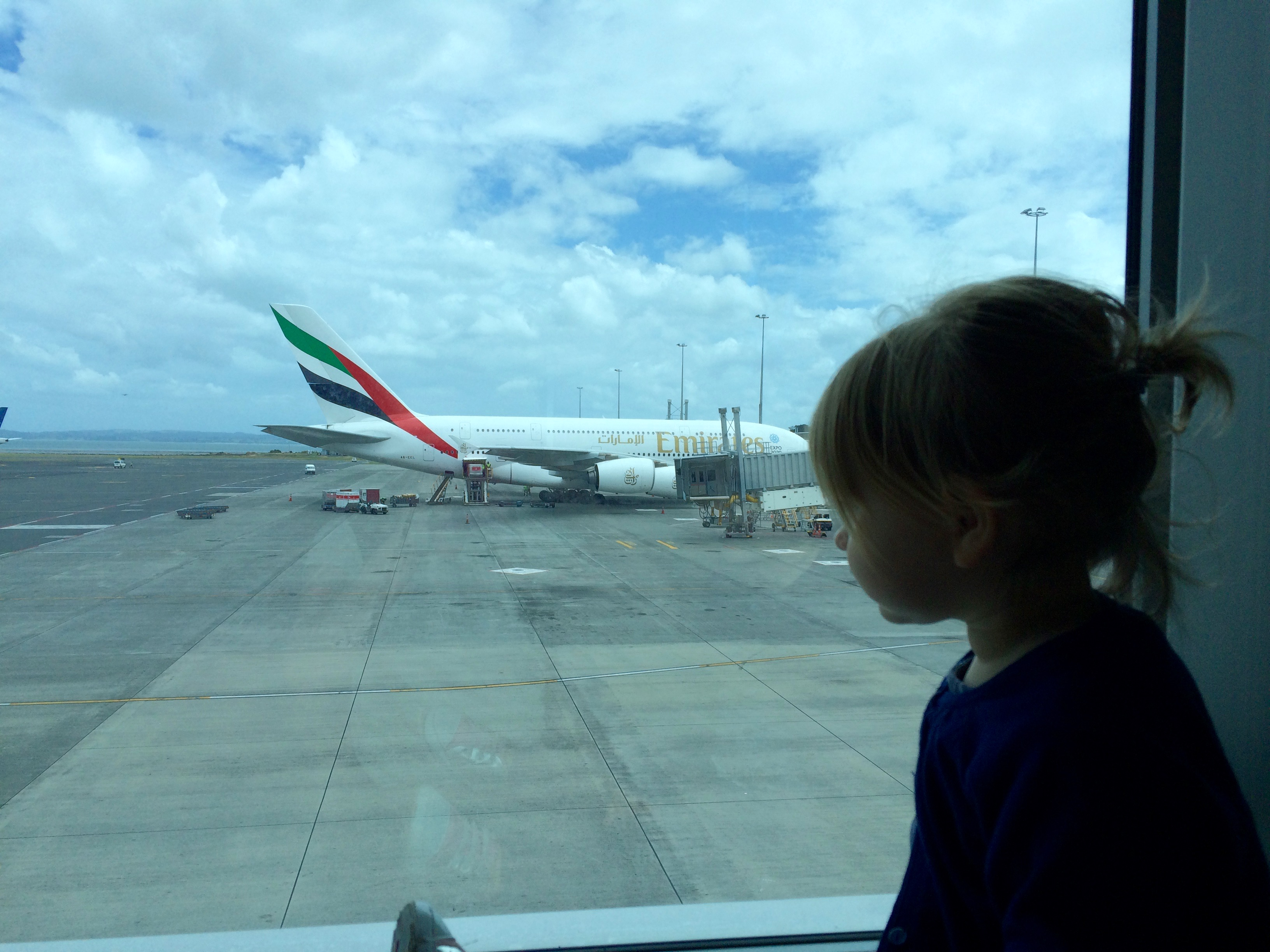 travelling with a toddler on a plane