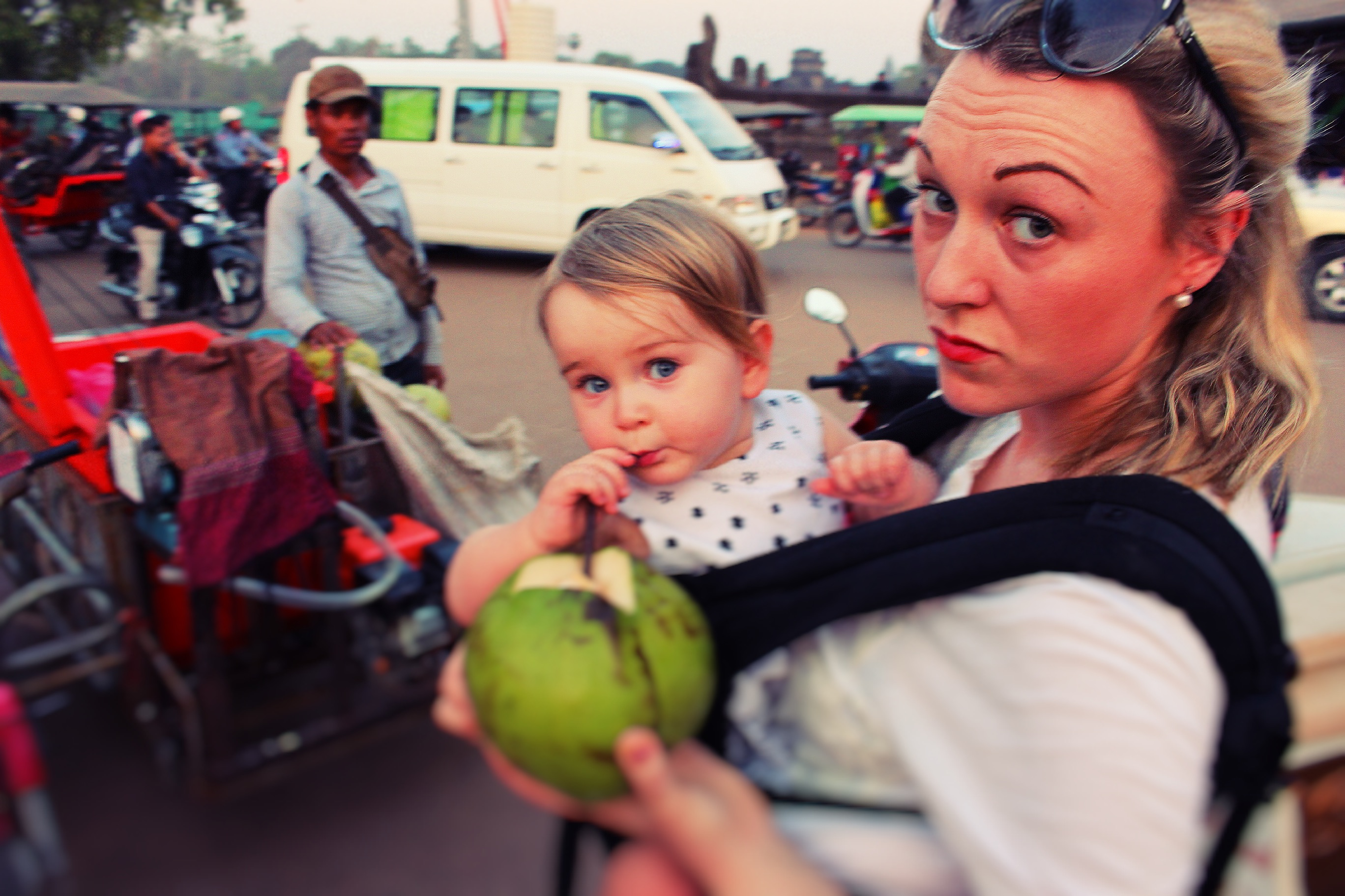 siam reap with a baby