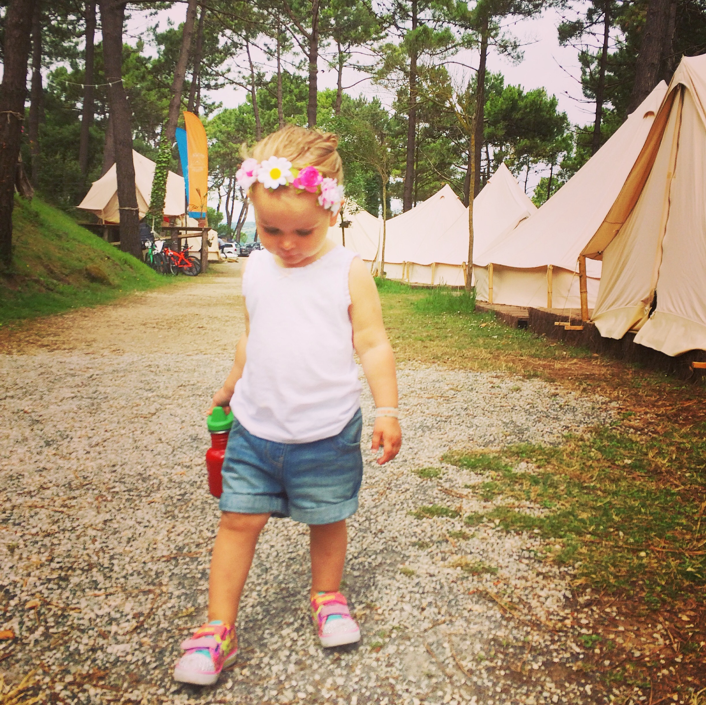 A glamping and surfing holiday in Spain with a toddler