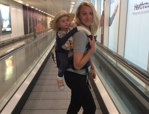 i-Angel carrier, hipseat and toddler backpack review