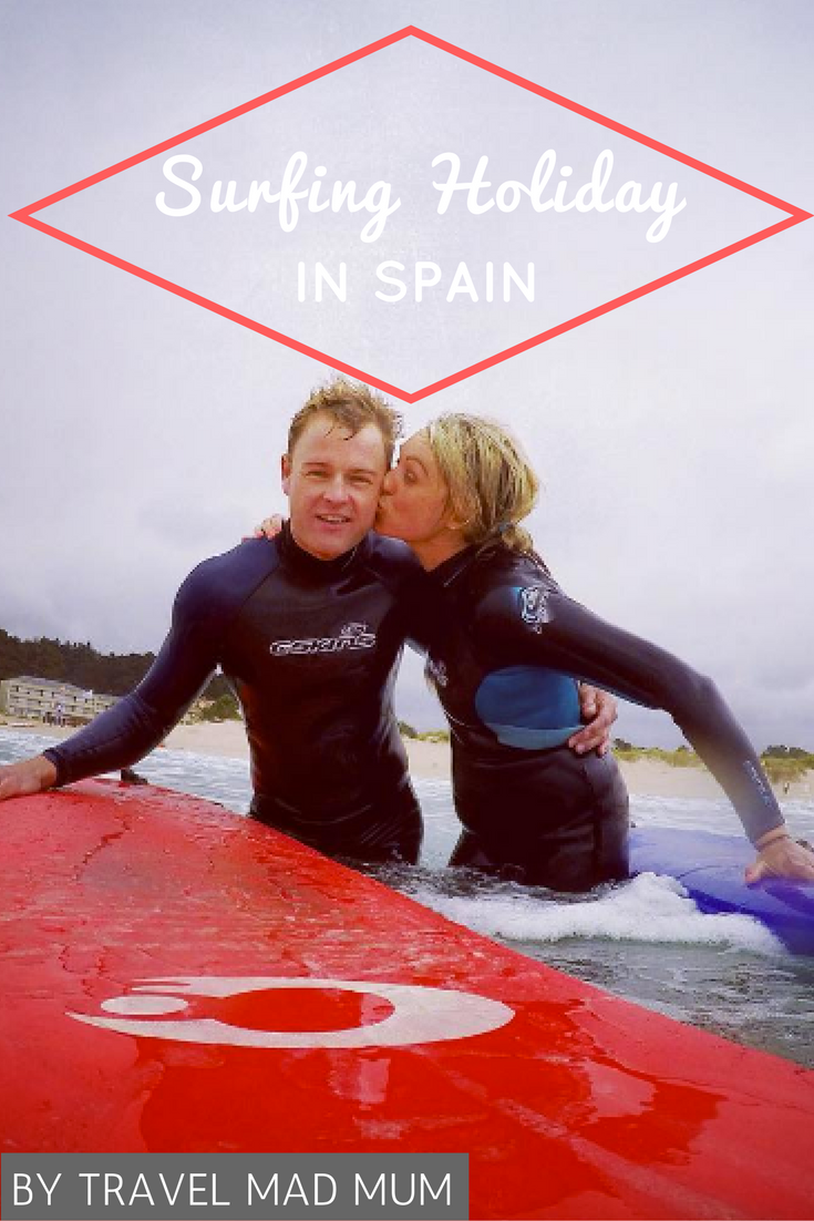 Glamping and surfing holiday in Spain with a toddler