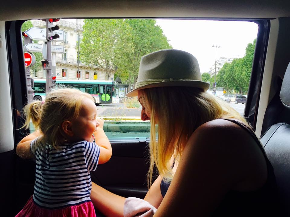 Paris with a toddler