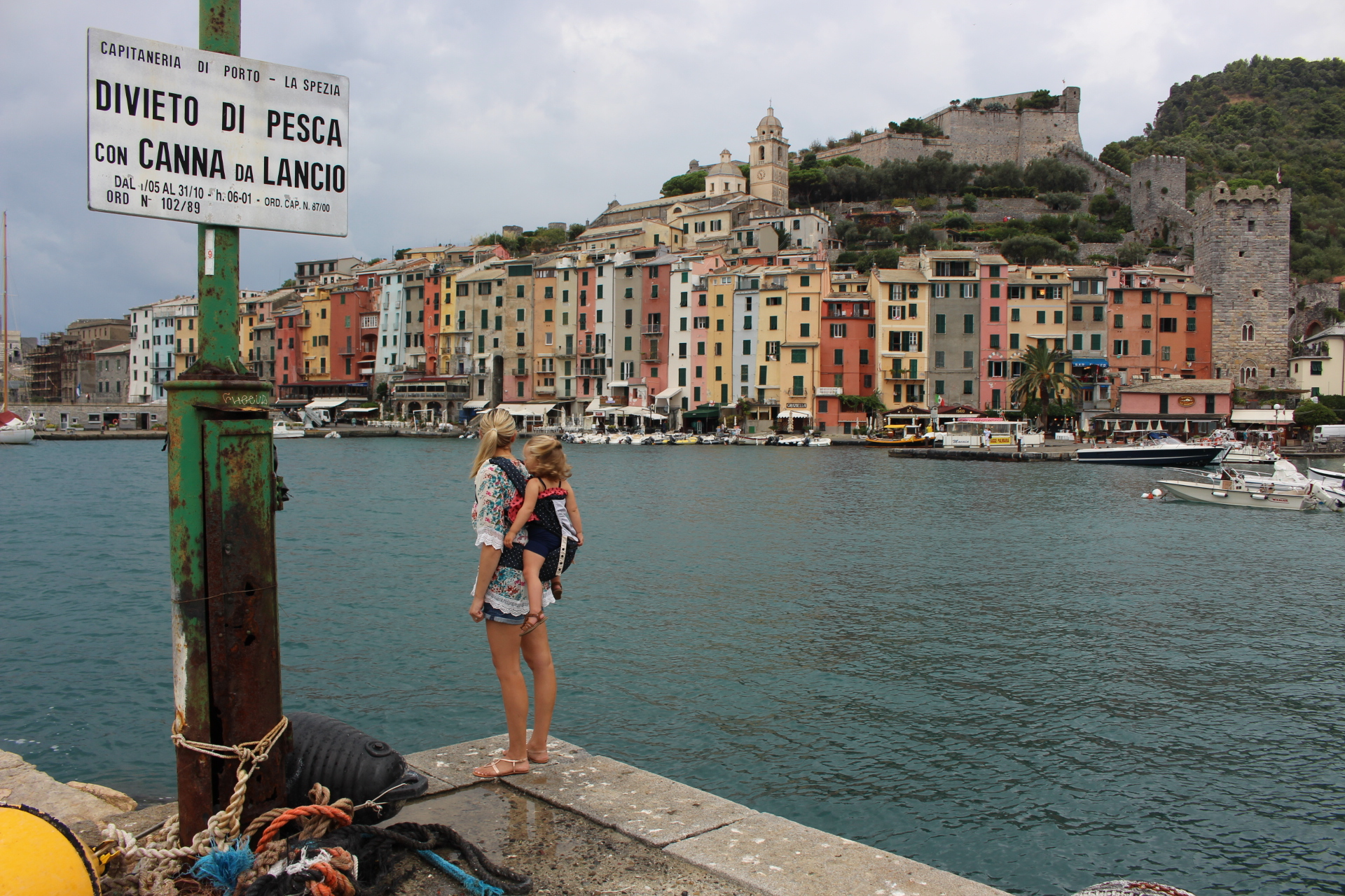 backpacking around italy with kids