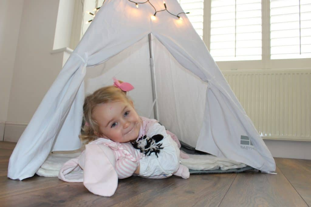 A review of Baby Hub Sleep Space travel cot