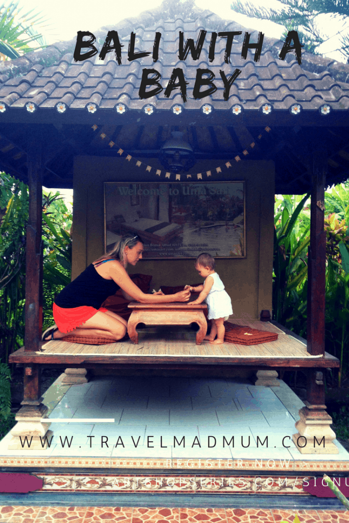 Bali with a baby