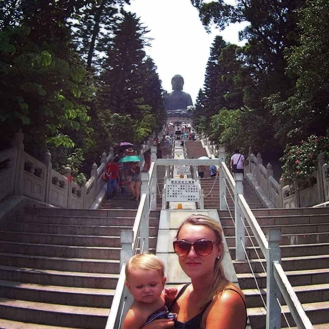 Hong Kong with a baby