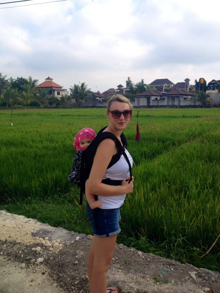 bali with baby - holiday with baby