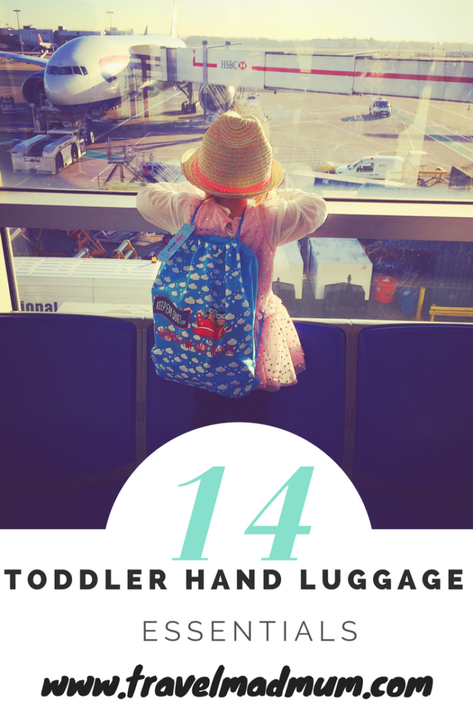 toddler hand luggage essentials