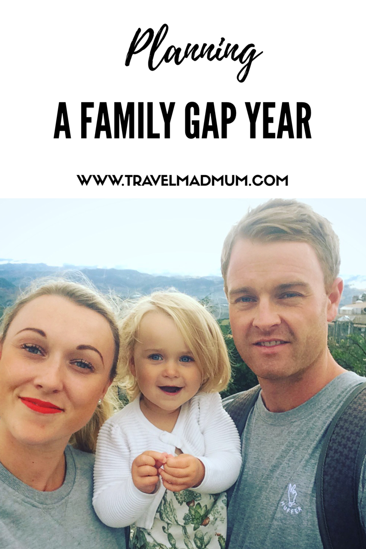 planning a family gap year
