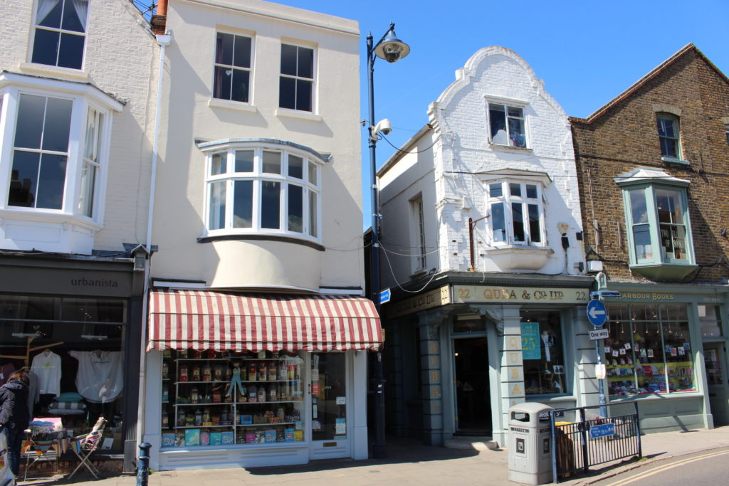 A day trip to Whitstable with kids