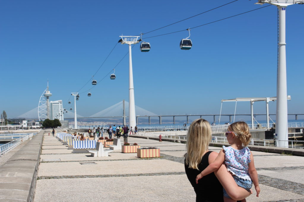 There are plenty of things to do in Lisbon with kids including the cable car