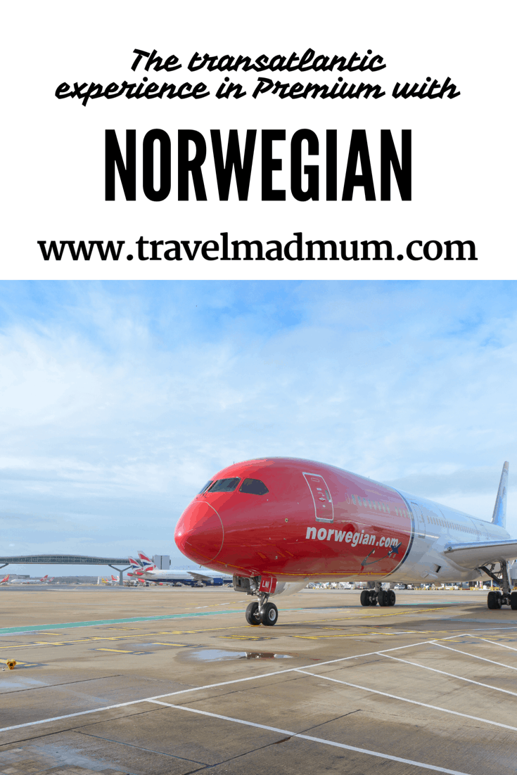 The transatlantic experience in premium with Norwegian