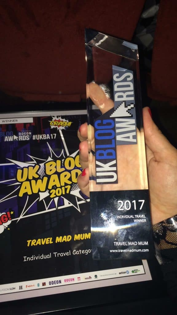 UK travel blog of the year