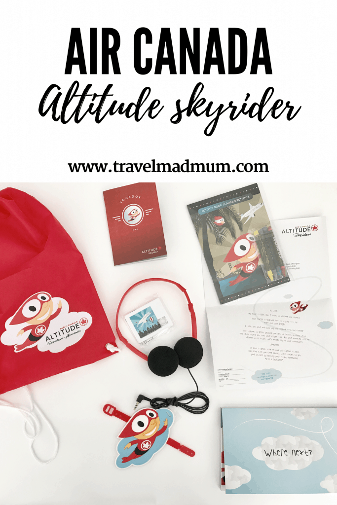 Air Canada Altitude Skyrider programme for kids
