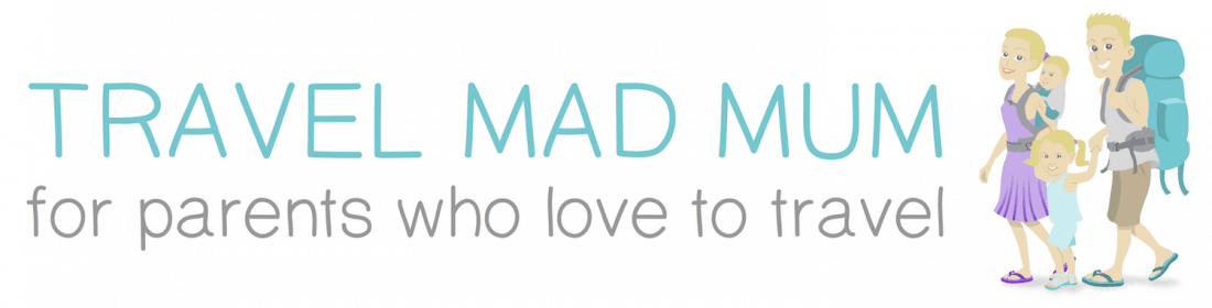 Travel mad mum Retina Logo