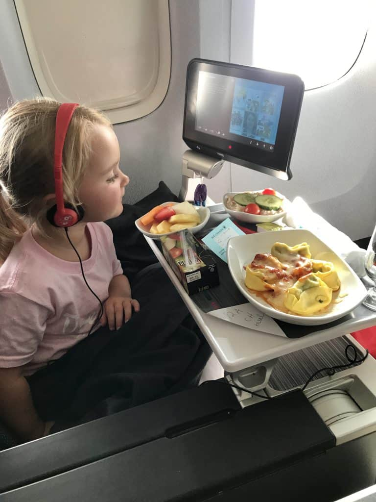 Flying Premium Economy with Air Canada