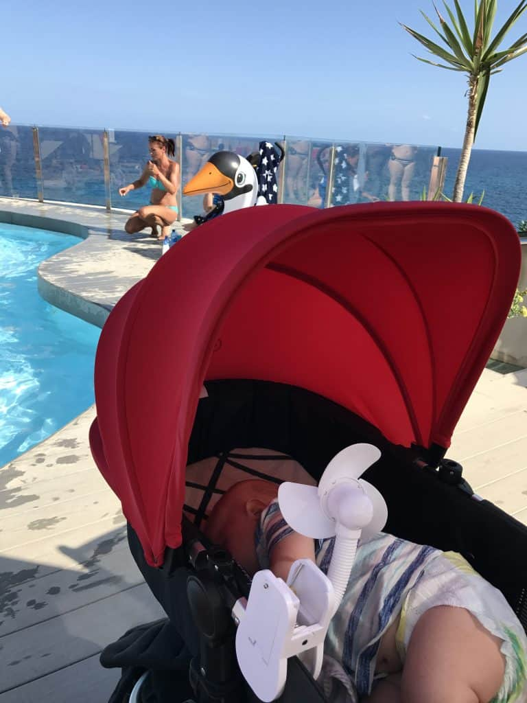 Five Dreambaby® products that make travel with a baby easy