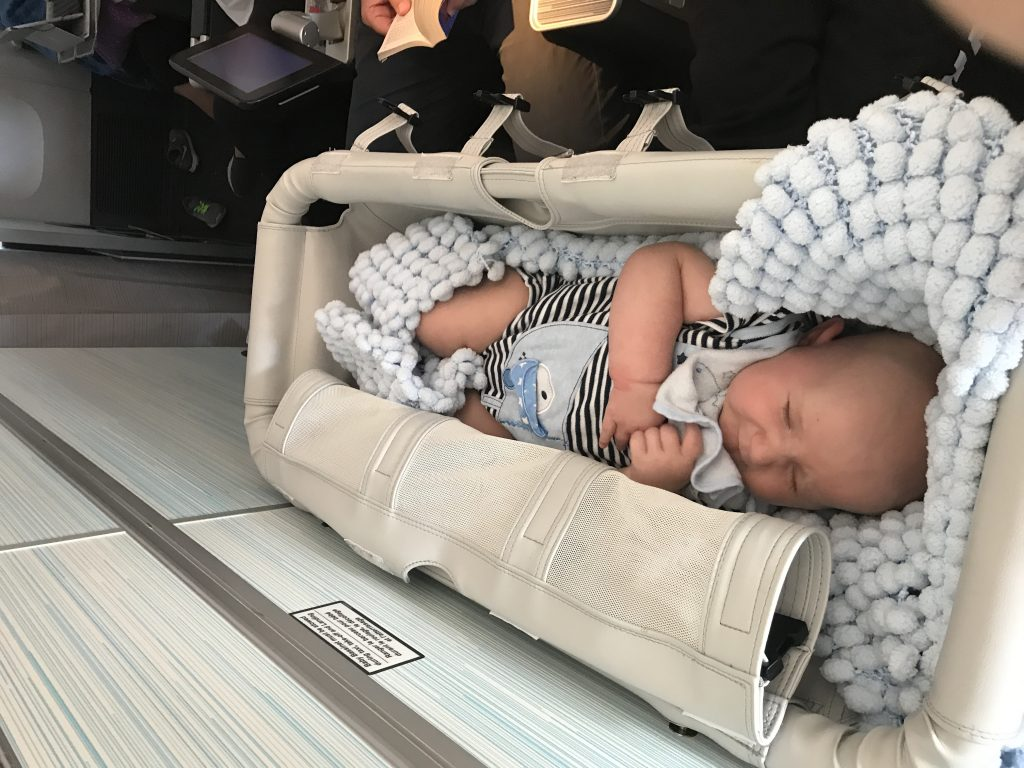 TRAVELLING WITH A NEWBORN