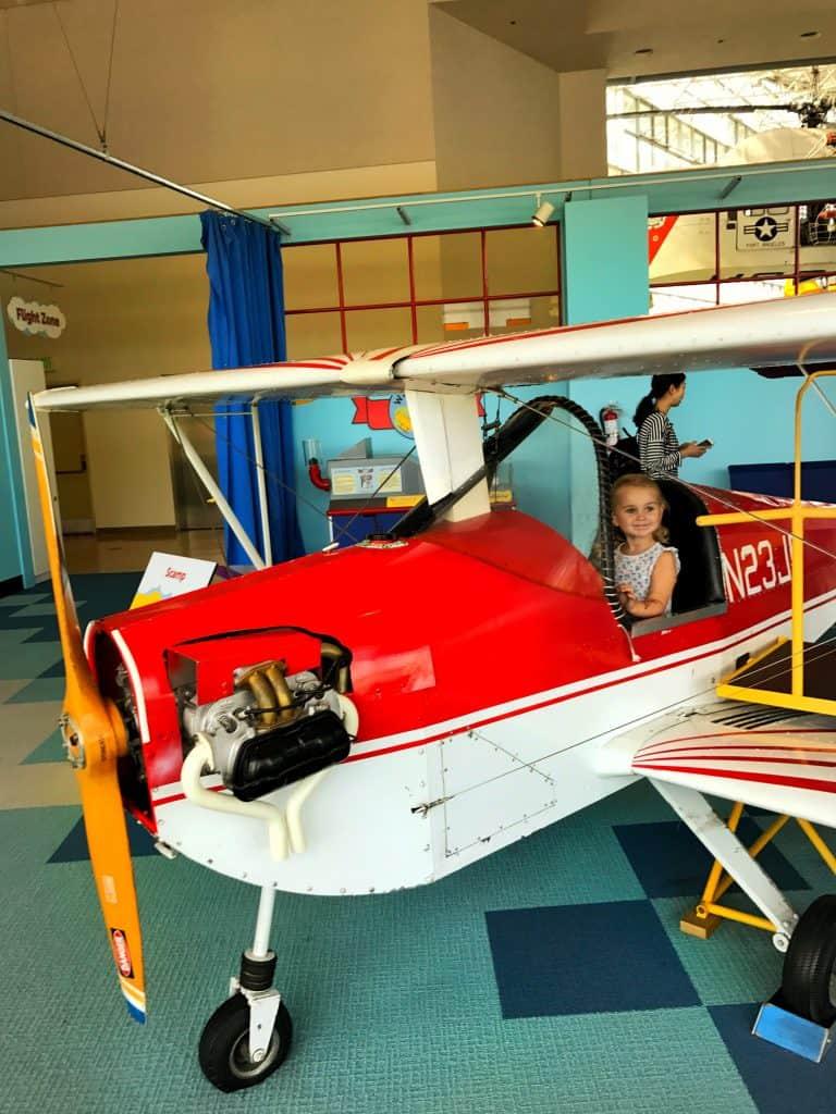 Toddler Activities Seattle - Museum of Flight