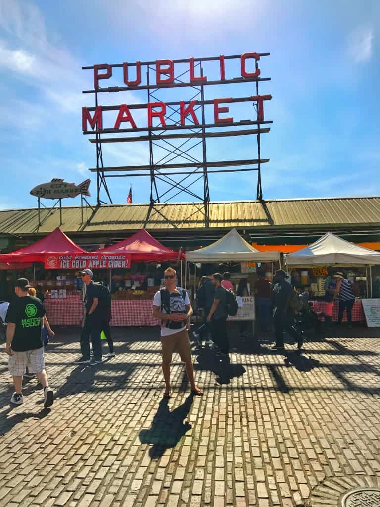 Seattle Tourist Attractions - Pike Market