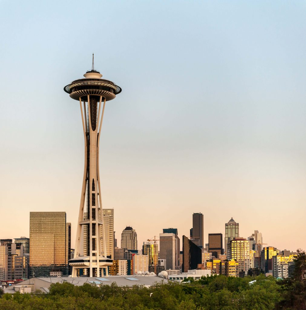 Places to visit in Seattle - Space Needle