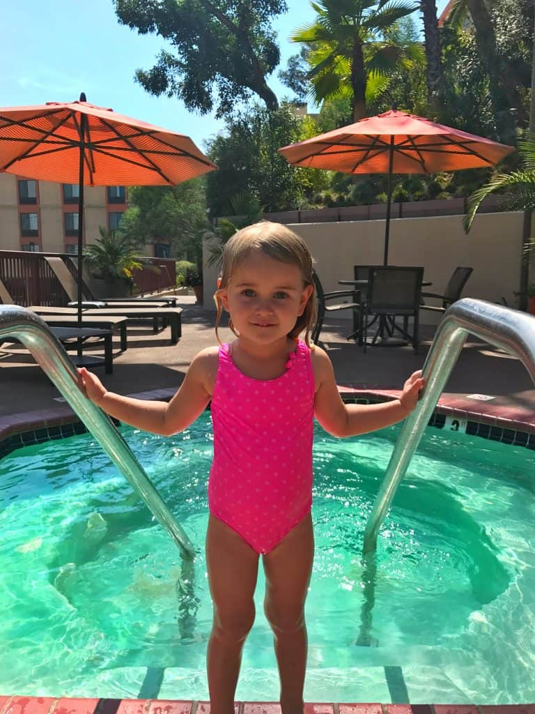 Where to stay in los angeles with kids - hollywood hilton