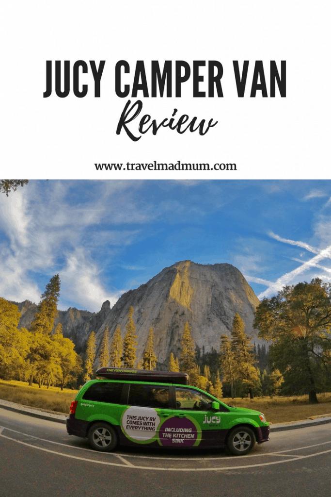 JUCY camper van review