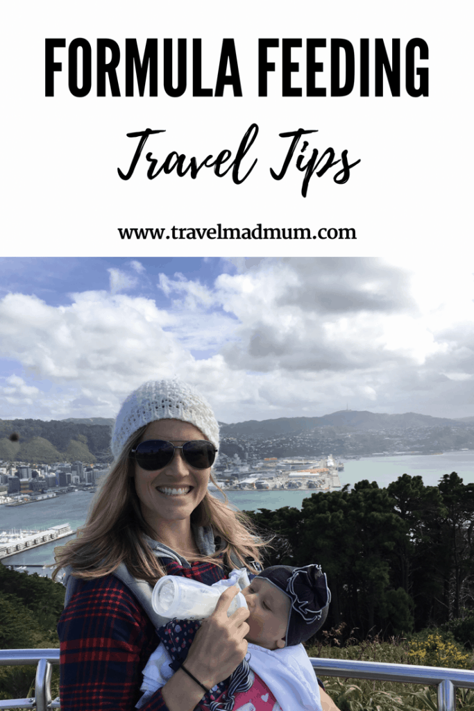 formula feeding travel tips