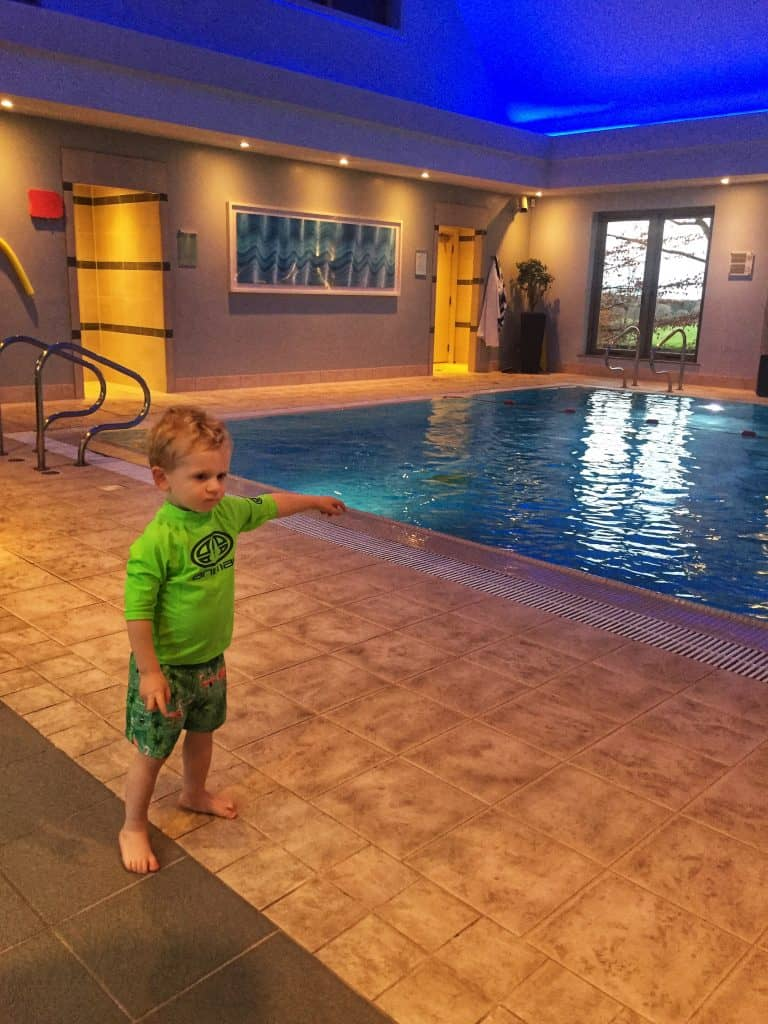 Kids hour at the pool at Calcot Manor Hotel & Spa