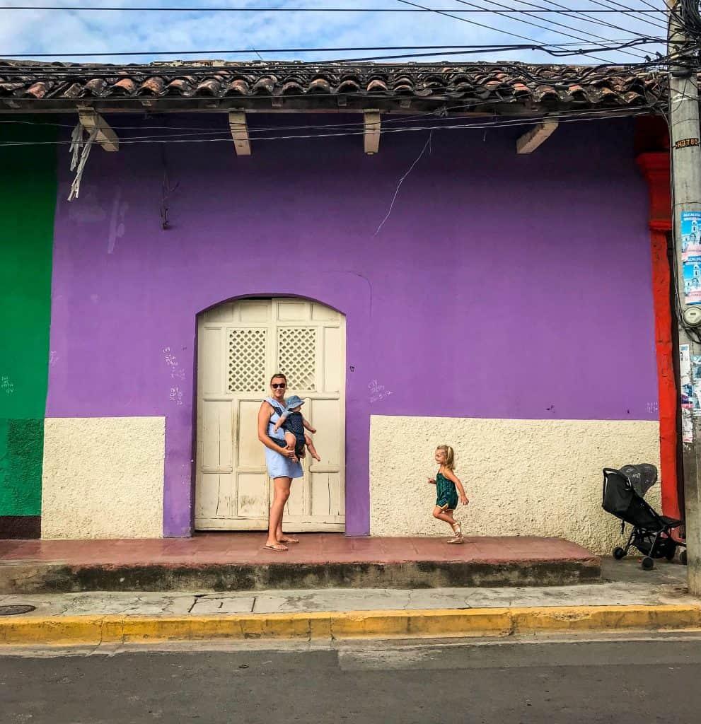 Colorful Buildings in Granada - things to do in Granada, Nicaragua