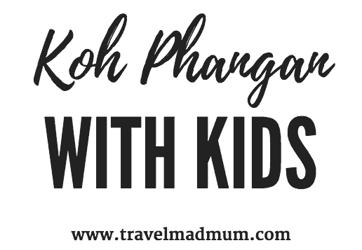 Koh Phangan with kids pin