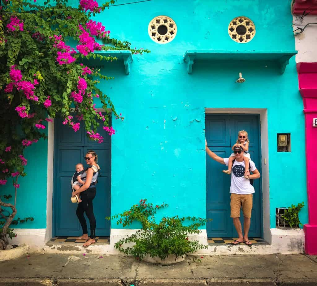 cartagena, colombia with kids