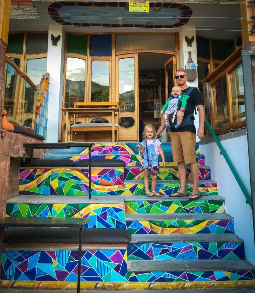 Banos, Ecuador with kids