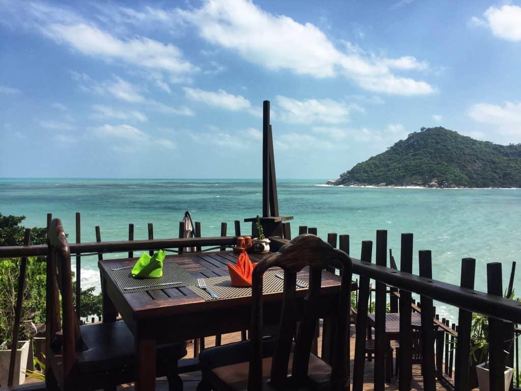 Panviman pool restaurant view