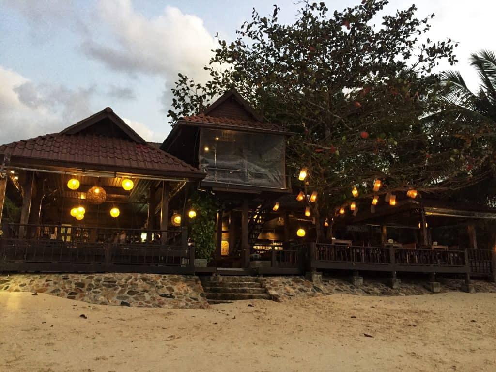 Salad Hut restaurant, Koh Phangan