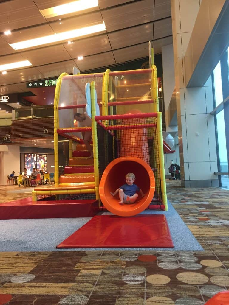 Changi airport play area