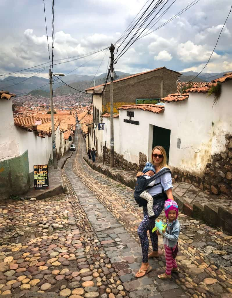 cusco with kids