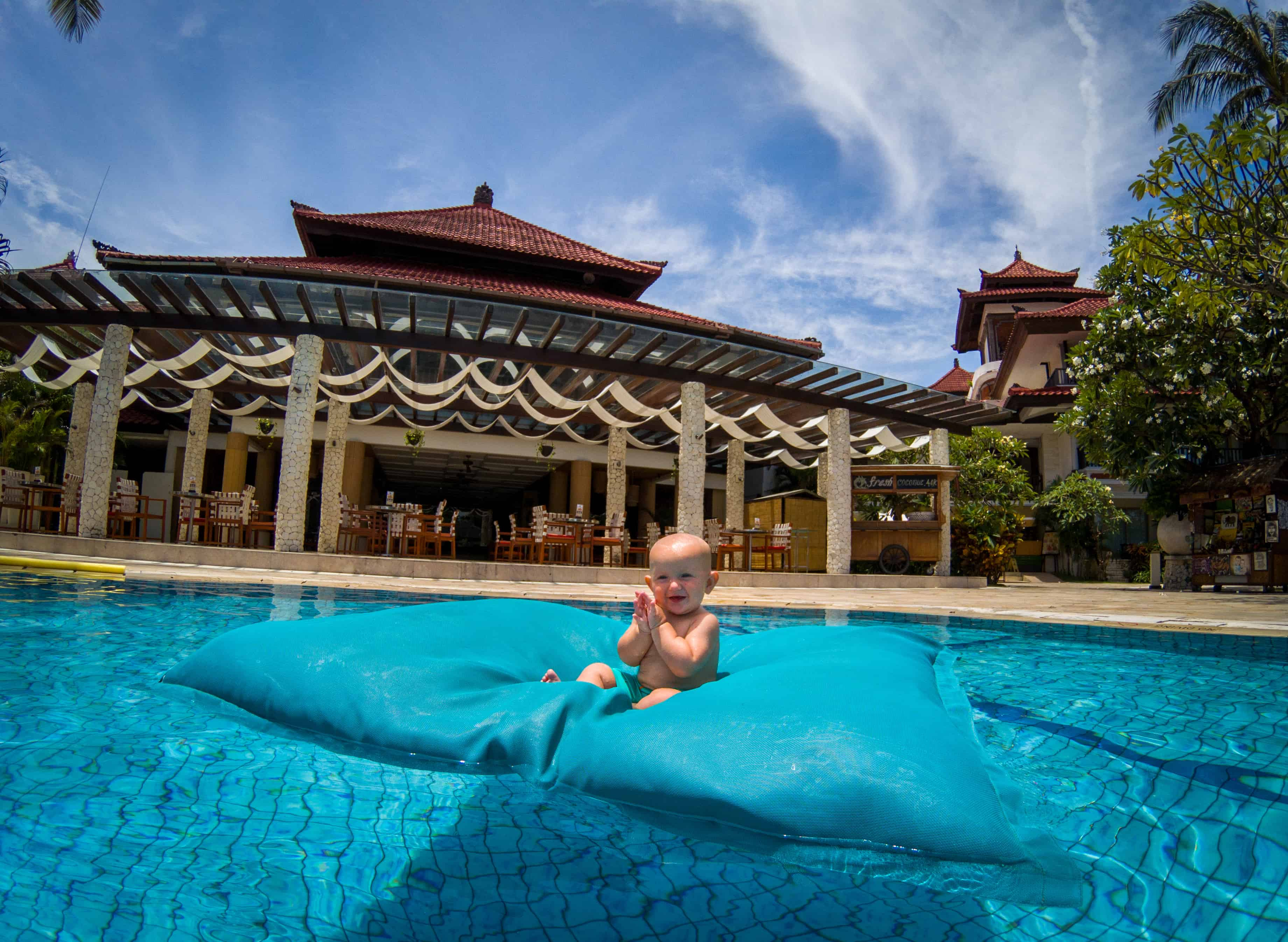 best place to stay in bali with baby