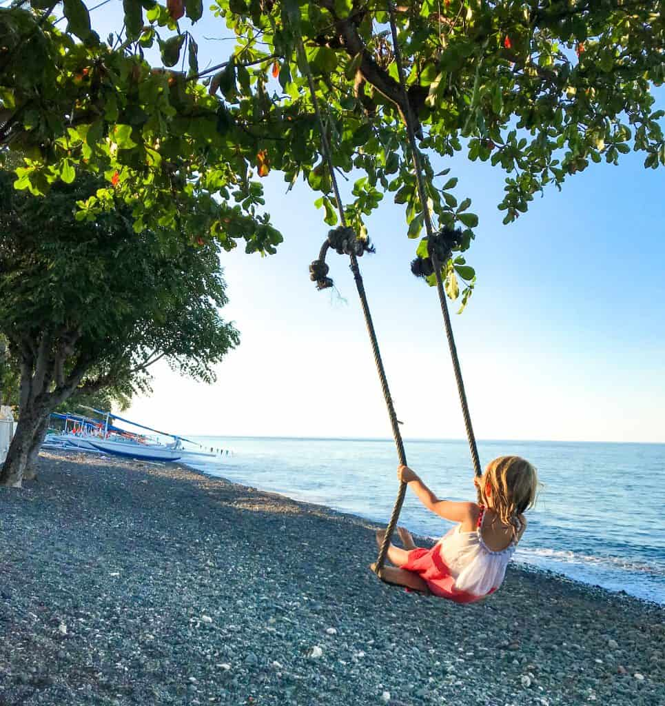 Amed, Bali with kids