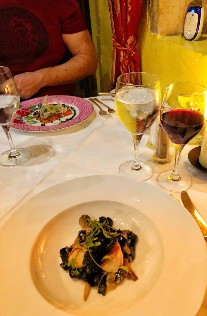 Bailiffscourt Hotel & Spa dinner