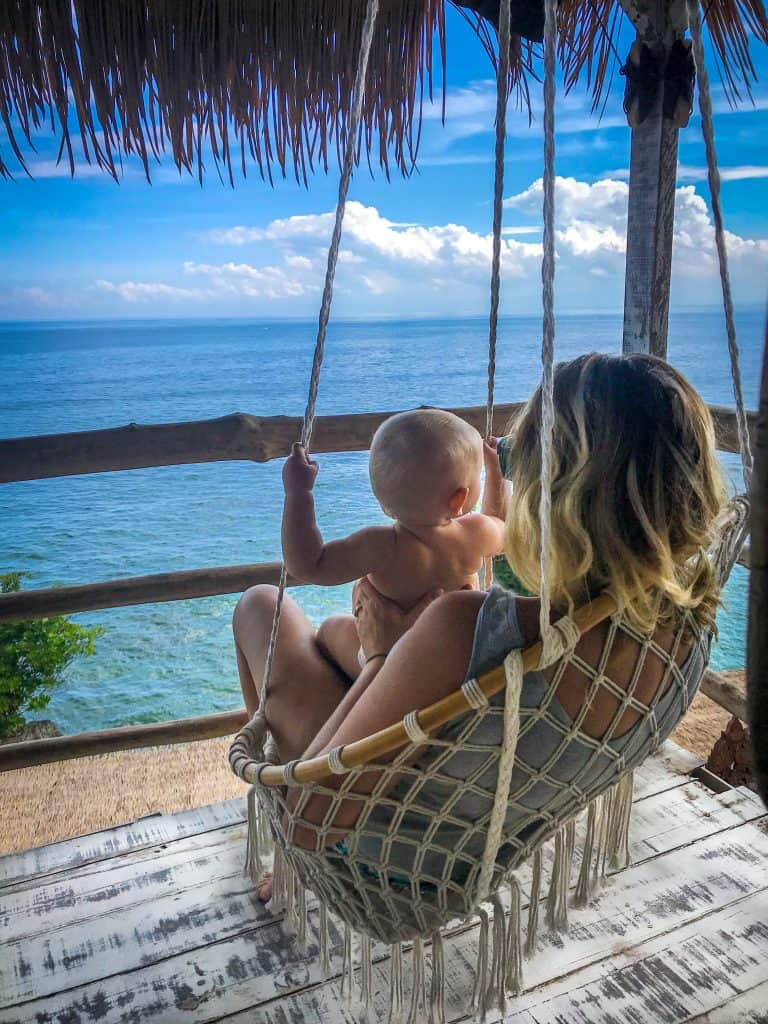 travelling with baby to bali