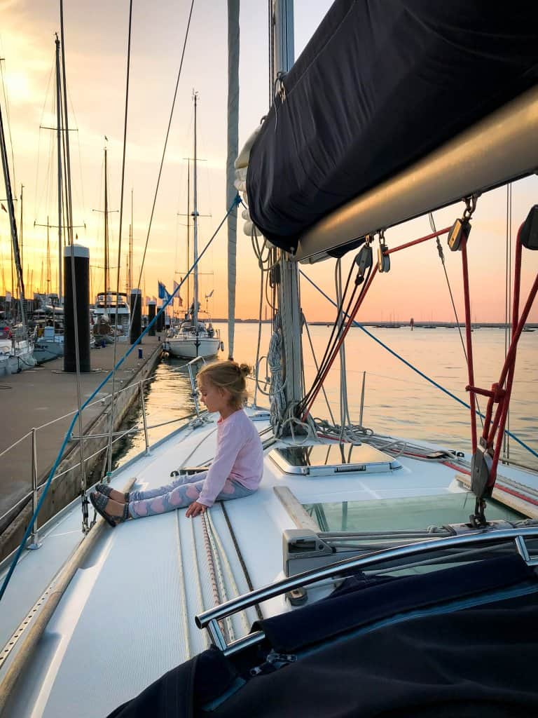 sailing with a toddler
