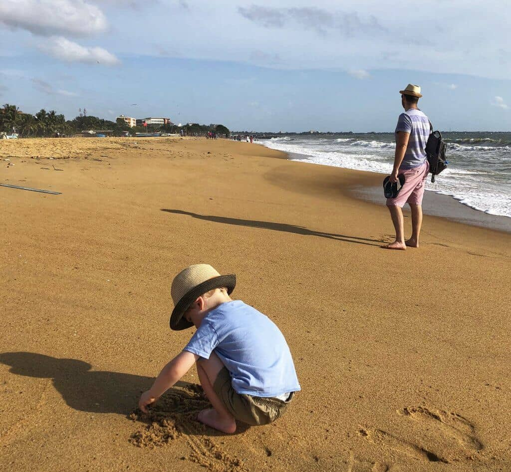 Sri Lanka with kids - Negombo