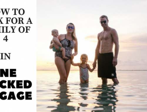 HOW TO PACK FOR A FAMILY OF FOUR IN ONE CHECKED LUGGAGE