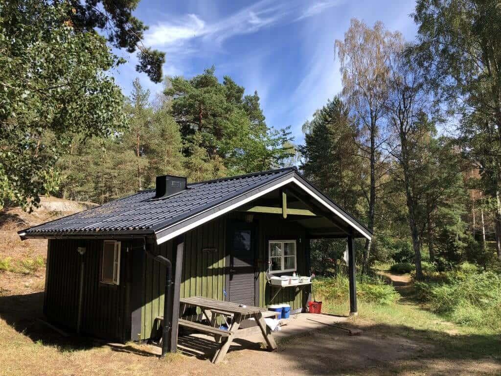 Stockolm Grinda Island cabin